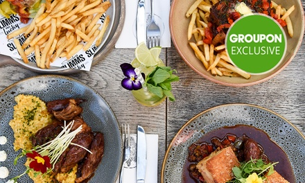 $30 to Spend on Food and Drinks at Scarlett Slimms and Lucky