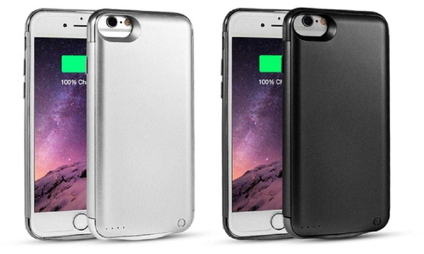 Thin Power Bank Case for iPhone in Choice of Colour