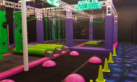 Max Pass, Extreme Pass, or Party at GlowZone Houston (Up to 40% Off). Nine Options Available.
