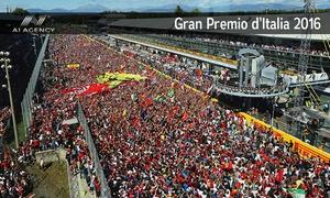 A1 AGENCY: F1 - Gran Premio d'Italia a Monza, ingressi dal 2 al 4 settembre (sconto 20%)