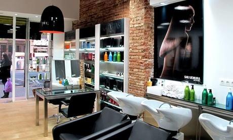 Sesión de peluquería con tto. Moroccanoil y opción a Olaplex y babylights desde 19,95 € en 2 centros Virgola Milano