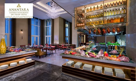 Iftar or Eid Buffet with Drinks for Up to Six Adults at Anantara Eastern Mangroves Abu Dhabi Hotel (Up to 31% Off*)