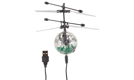 Infrared Flying Disco Ball Drone