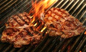 Mendoza Steakhaus Am Tierpark:  3-Gänge-Menü mit Fleisch- oder Fischgrillplatte f. Zwei oder Vier im Mendoza Steakhaus Am Tierpark (bis zu 55% sparen*)