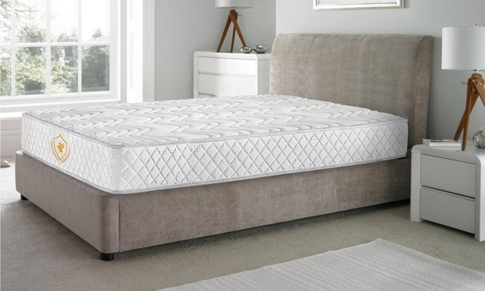 matelas ressorts m moire forme groupon shopping. Black Bedroom Furniture Sets. Home Design Ideas