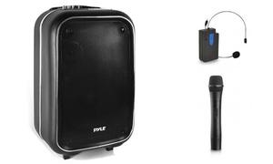 "Pyle PWMA825BT 8"" PA Bluetooth Loudspeaker Trolley"