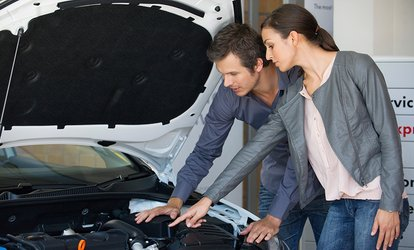 image for $29 Full Car Service, $39 for Air-Conditioning Re-Gas, or $59 For Both at Hi-Tech Automotive Services (Up to $516 Value)