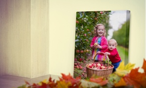 Canvas People: 8x10, 11x14, 16x20, 18x24, or 20x30 Canvas Photo Print from Canvas People (Up to 90% Off)