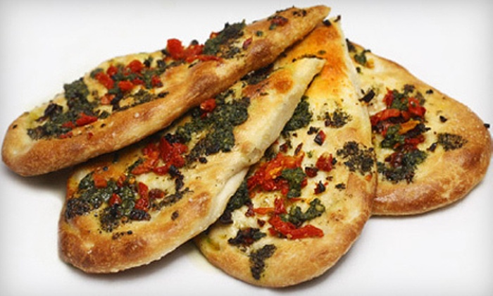 Focaccia Restaurant - Downtown Toronto: Italian Dinner for Two or Four or $15 for $30 Worth of Italian Fare at Focaccia Restaurant