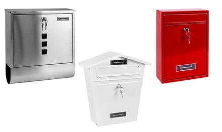 Modern Stainless Steel Post Box