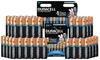 1 à 5 lots de 8 piles Duracell, modèle AA et/ou AAA au choix