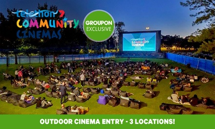 Outdoor Cinema Entry for One ($11.50), Two ($23) or Four People ($46) at Telethon Community Cinemas (Up to $56 Value)