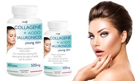 Hasta 360 comprimidos de colágeno y ácido hialurónico Lineadiet