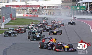 Formula 1 Grand Prix du Canada: 3-Day Ticket for the FORMULA 1 GRAND PRIX DU CANADA from June 9 to 11, 2017 (Up to 49% Off)