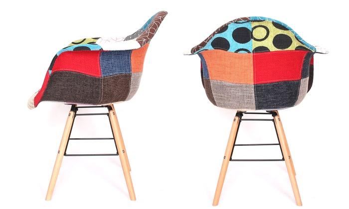 Lot de 2 fauteuils Patchwork Vacuit