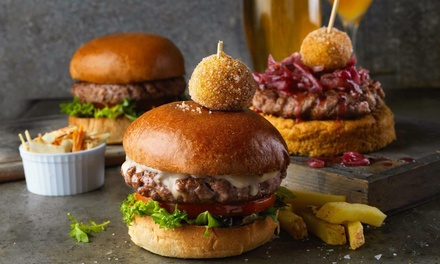 Choice of Burger and Drink for Two or Four at Brook & Barter (Up to 47% Off)