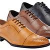 Adolfo Kevin Men's Brogue Dress Shoes