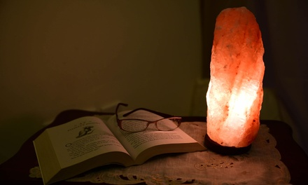 One (AED 89) or Two (AED 169) Himalayan Rock Salt Lamps 3 4kg
