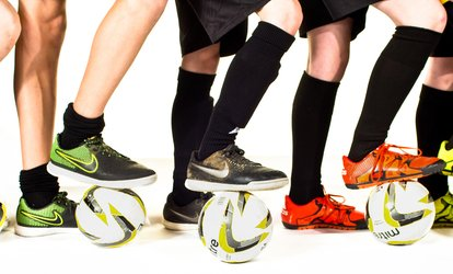 Three One-Hour Mini or Junior Fast Feet Sessions at Fast Feet Football Academy