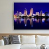 """24"""" x 16"""" Cities at Night HDR Photography Prints"""