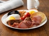 English Breakfast at Kinzo Coffee Bar And Lounge