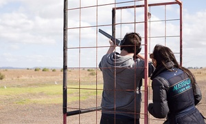 Go Shooting: $149 for a Clay Target Shooting Session at Go Shooting, Quandong