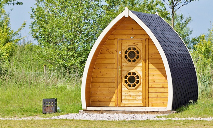 Stanley Villa Farm Camping - Preston: Lancashire: Up to 5-Night Camping Pod Stay for Two Adults and Two Children at Stanley Villa Farm Camping
