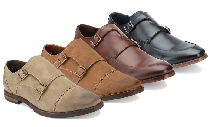 Monk-Strap Dress Shoes | Groupon Goods