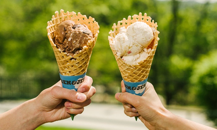Ben & Jerry's - LA Union Station: 5 or 10 Groupons Each Good for $5 Worth of Ice Cream and Frozen Treats at Ben & Jerry's (50% Off)