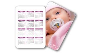 Personaliza.com: Calendarios personalizados de imán, de sobremesa o de bolsillo con envío gratuito desde 16,90€ en Personaliza.com