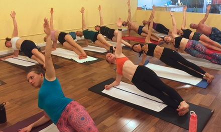 5 Classes or 1 Month of Unlimited Classes for Hot Yoga or Inferno Hot Pilates at YO BK Hot Yoga (Up to 59% Off)