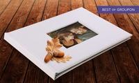 1 ou 2 livres photo A4 de 20 ou 40 ou 60 pages avec fenêtre personnalisable sur Printerpix dès 8,95 € (jusquà -88 %)