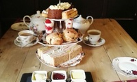 Vintage Afternoon Tea For Two or Four at The Anchor Inn (Up to 36% Off)