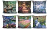 Claude Monet Impressionist Accent Pillows. Multiple Styles Available.