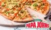 Papa John's: pizza naar keuze