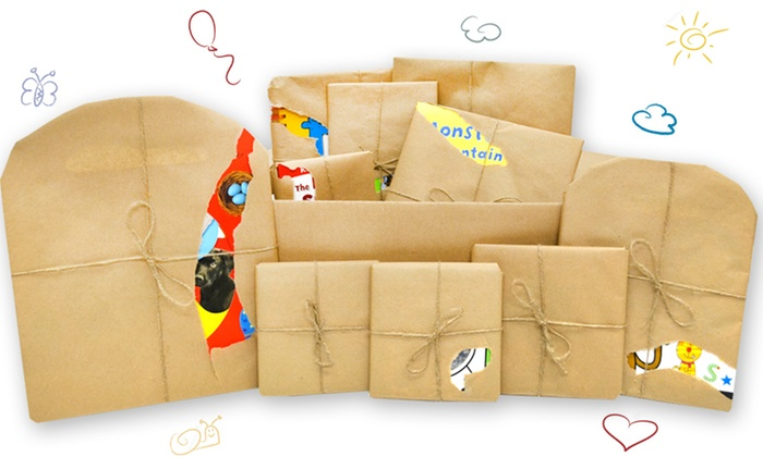 Children's Reading and Activity Book Mystery Boxes