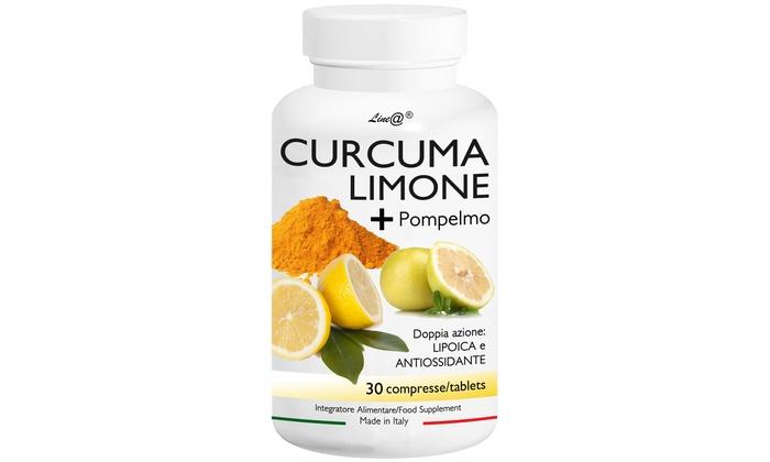 Curcuma e limone Lineadiet