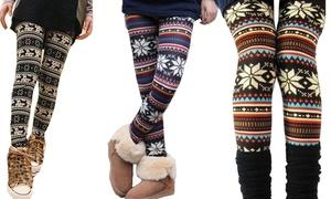 Leggings à motifs