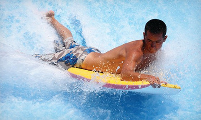 The Wave Waterpark - Vista: Water-Park Adventure for Two or Four at The Wave Waterpark (Up to 51% Off)