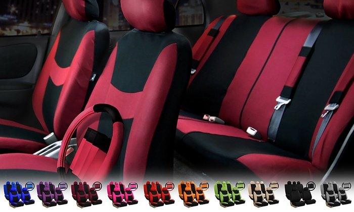 Light and Breezy Seat Cover Combo Set