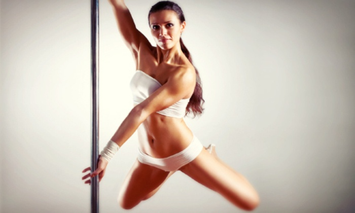 Modern Day Fitness - Central Business District: One Pole-Fitness Class for Two, or One Friday-Night Pole Party for Up to Eight at Modern Day Fitness (Up to 53% Off)