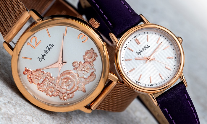 Sophie and Freda Berlin and Lexington Watches