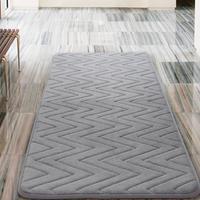 Groupon.com deals on Oversized Memory Foam Bath Rug