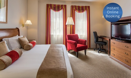 Adelaide, CBD: 1 or 2 Nights for Two with Wine, Late Check-Out at Hotel Grand Chancellor Adelaide on Currie