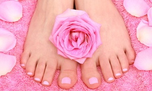Blodry Bar & Nail Bar: One or Two Classic Deluxe Mani-Pedis at Blodry Bar & Nail Bar (Up to 42% Off)