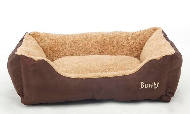 Soft washable dog bed groupon goods for Beds groupon