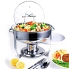 Culinary Edge 4-Qt. Stainless Steel Chafing Dish (7-Piece)