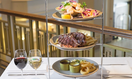 Surf and Turf Tower with Glass of Wine for Two ($39) or Four People ($76) at Bistro Sixty5 (Up to $216 Value)
