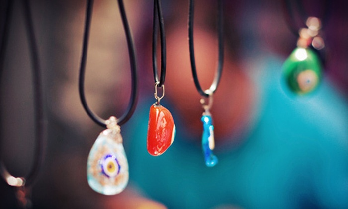 The Art Garage - Southwest Travis: $49 for a Pendant-Making Class for Two at The Art Garage ($100 Value). 10 Dates Available.