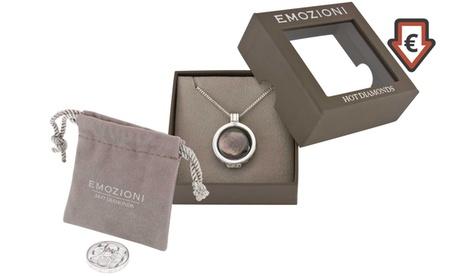 Collar de la marca Hot Diamonds con colgantes intercambiables
